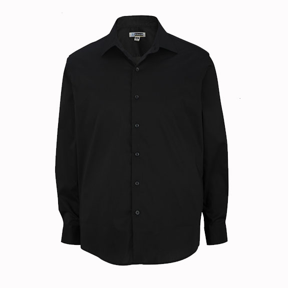 Men 39 s spread collar dress shirt stage hands clothing for Mens wide collar dress shirts